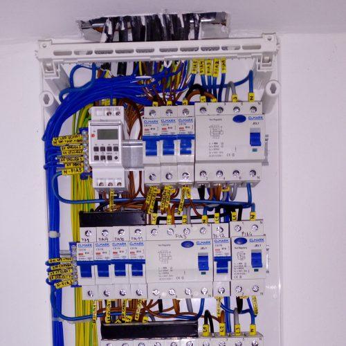 Nástenný rozvádzač 56 modulový